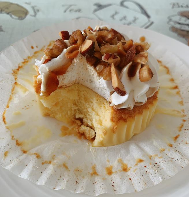 【コンビニスイーツLAWSON編】巷で大人気のバスクチーズケーキが自宅で食べられる♡_3