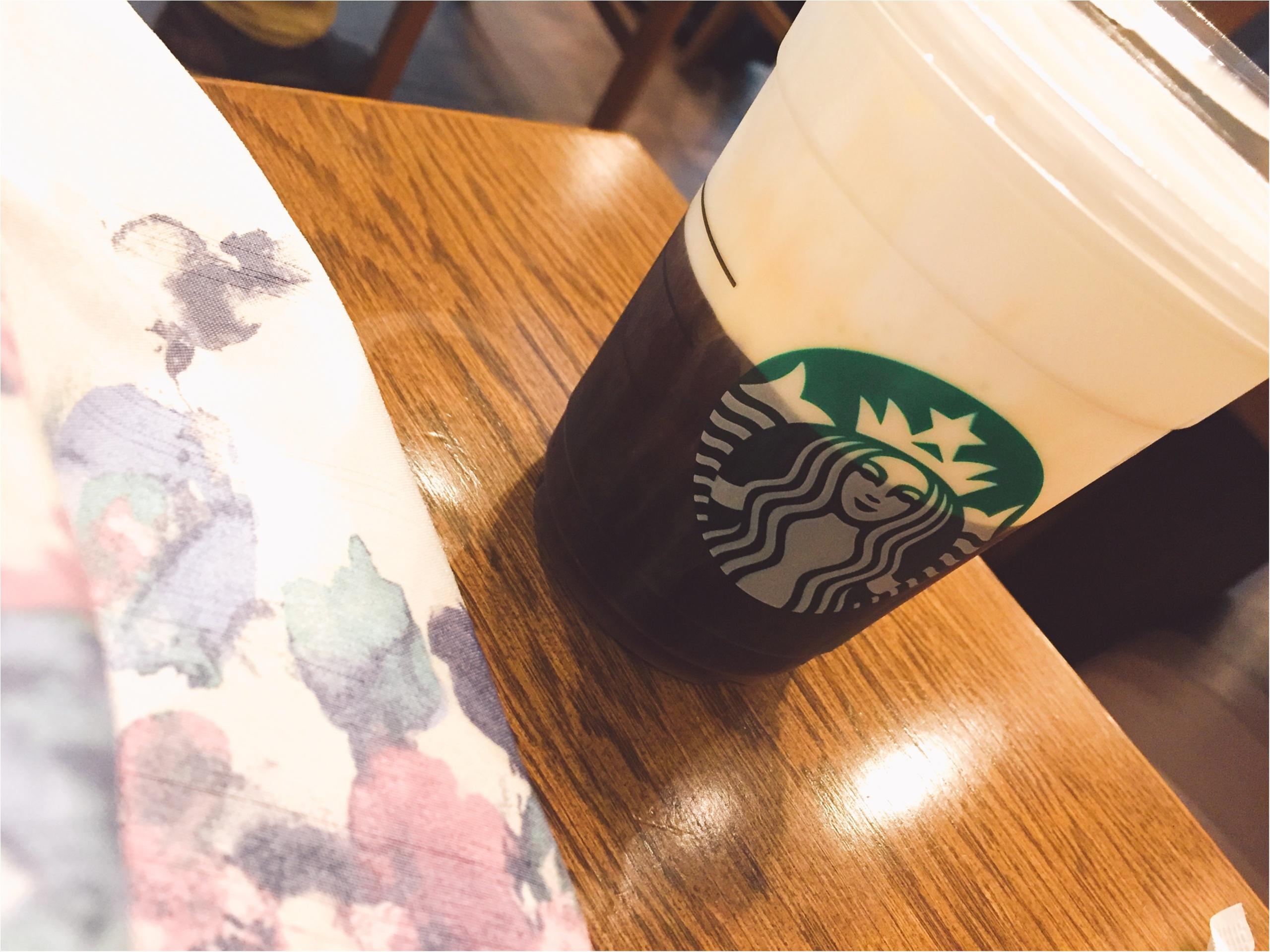【スタバ】ブラック派でも楽しめるアレンジコーヒー!コールドブリュー ムース フォーム ヘーゼルナッツ☆_4