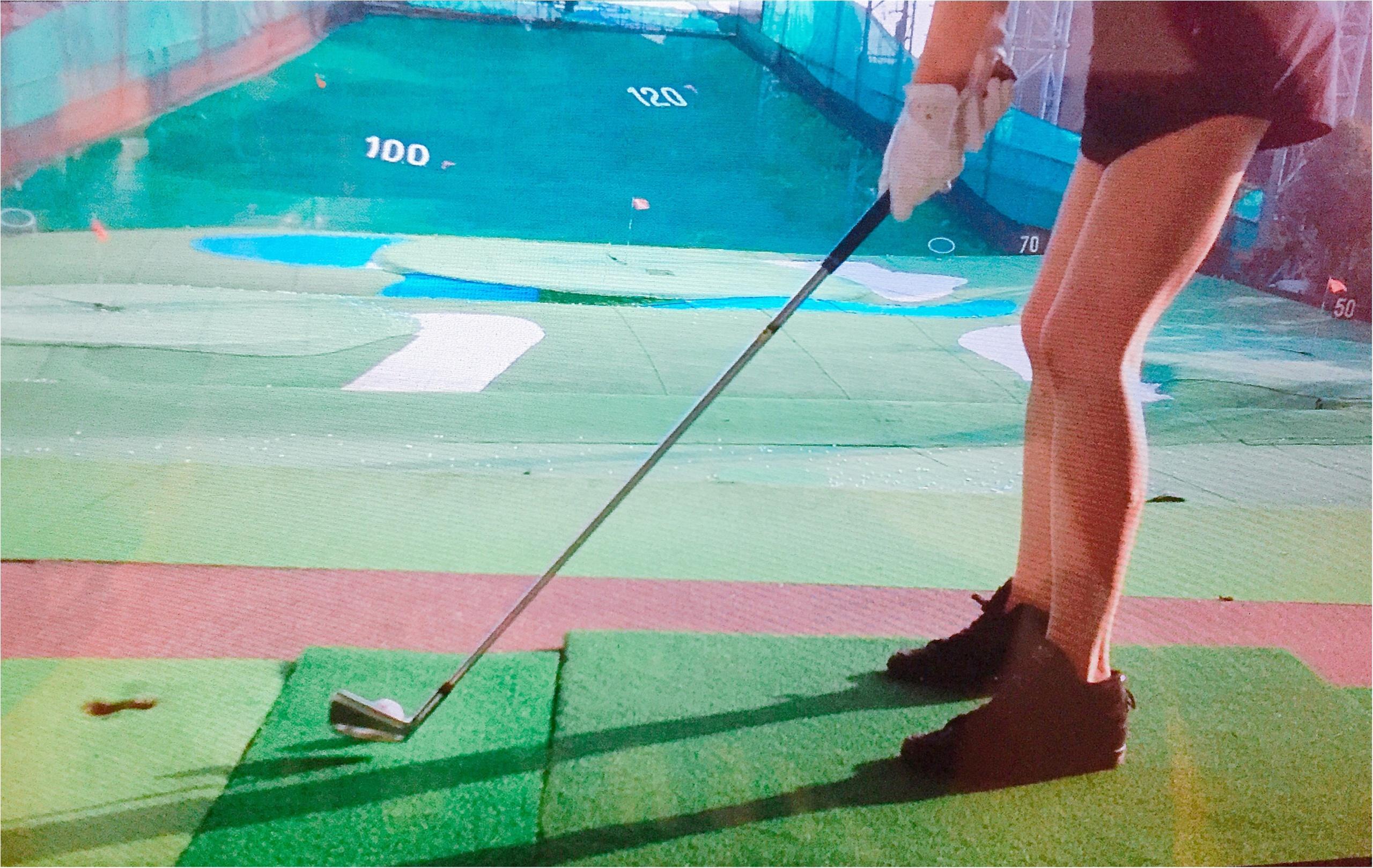 ぼっち練習デビゥ【運動オンチだけど私もみんなとゴルフやりたい】_2