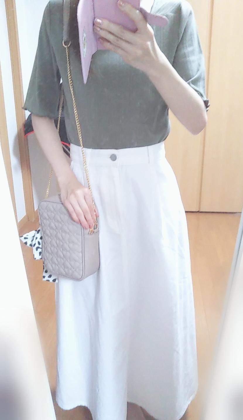 """【GU】夏のイベントもこれでOK?♥「デニムフレアマキシスカート」で""""おとなかわいい""""コーデ(*´ェ`*)_2"""