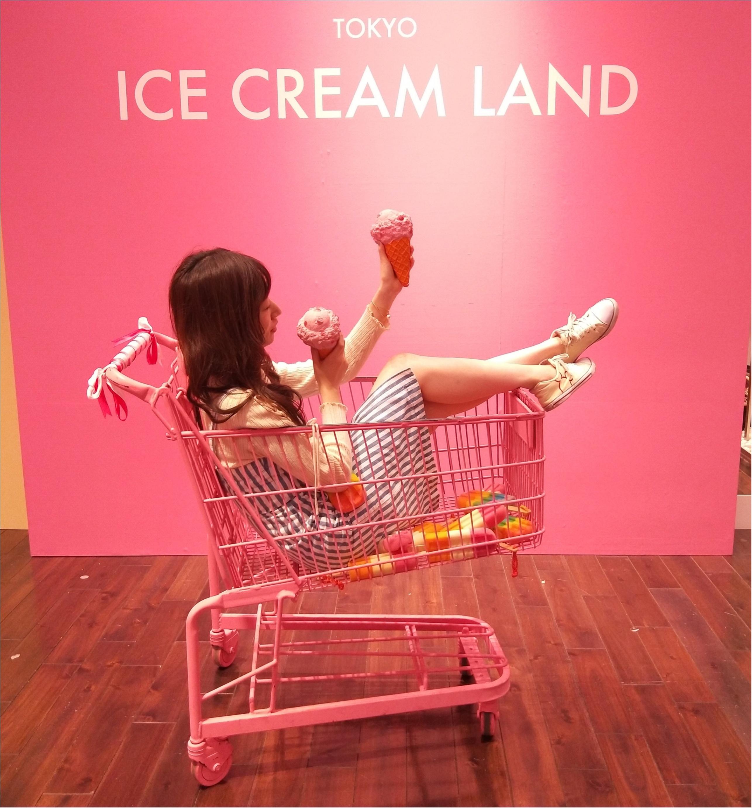 アイスクリームの夢の国「ICE CREAM LAND」でフォトジェニック空間を満喫♡横浜コレットマーレ5/27まで!_2_1