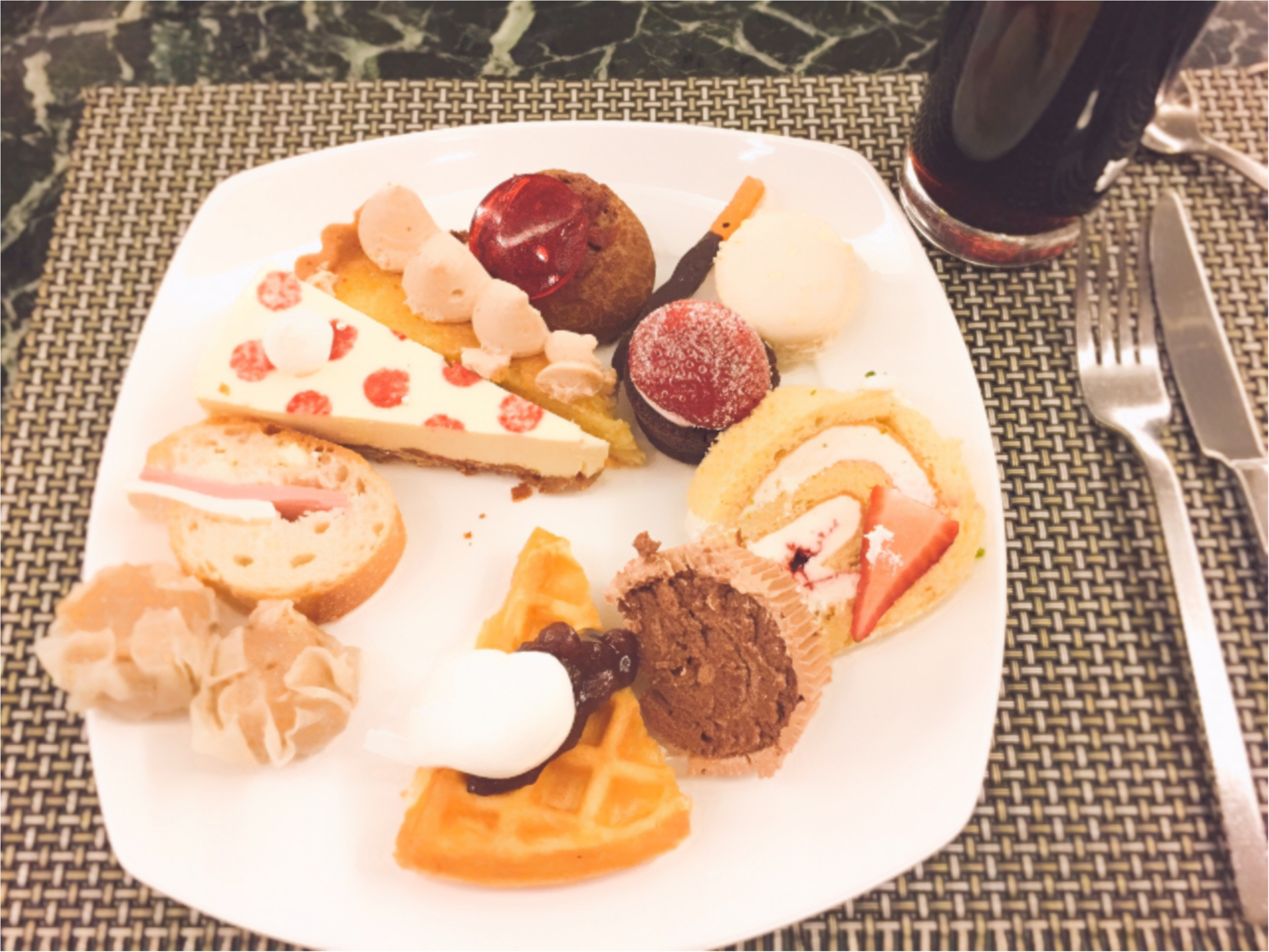 毎回大人気!ヒルトン東京のデザートブッフェ!夢のような『お菓子の家』の世界へ…♡*_4