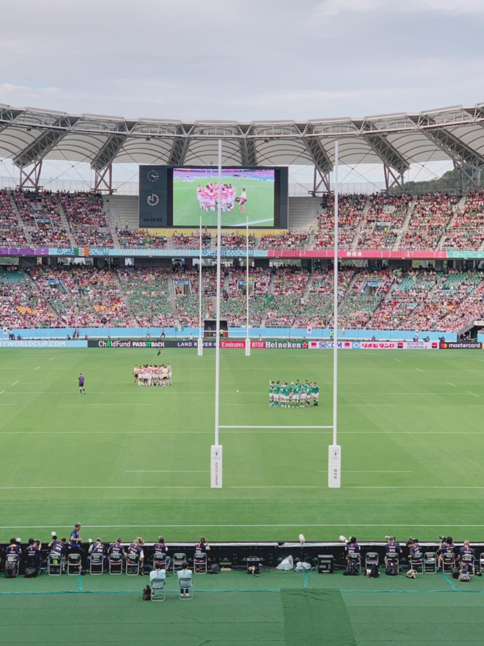 《歴史的勝利❤️》感動の【RWC】日本vsアイルランド戦を観戦してきました☻!_1