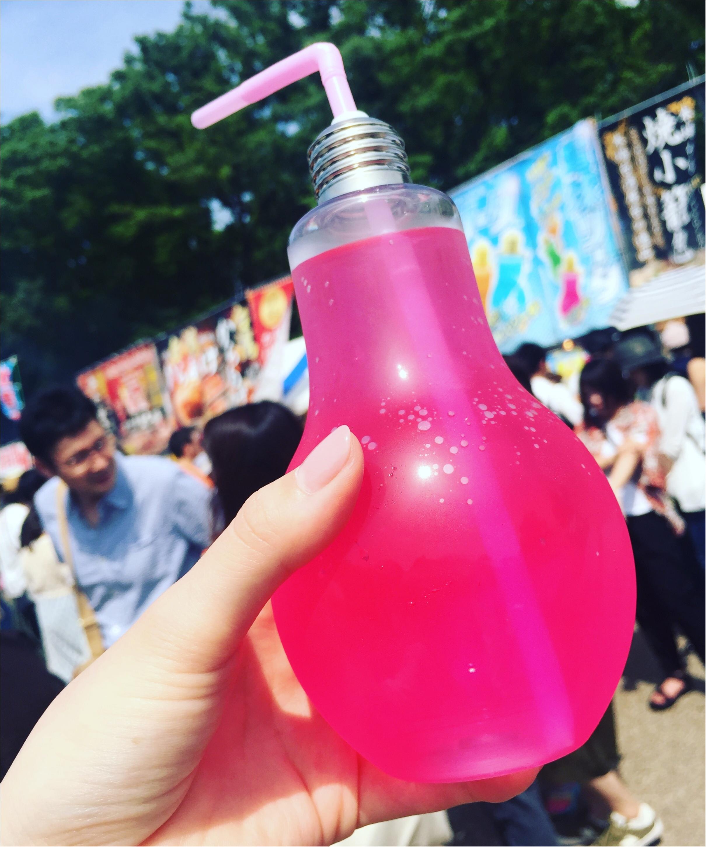 ♡話題の電球ソーダもあります!!上野で開催中の台湾フェスティバルへ行ってきました♡_3
