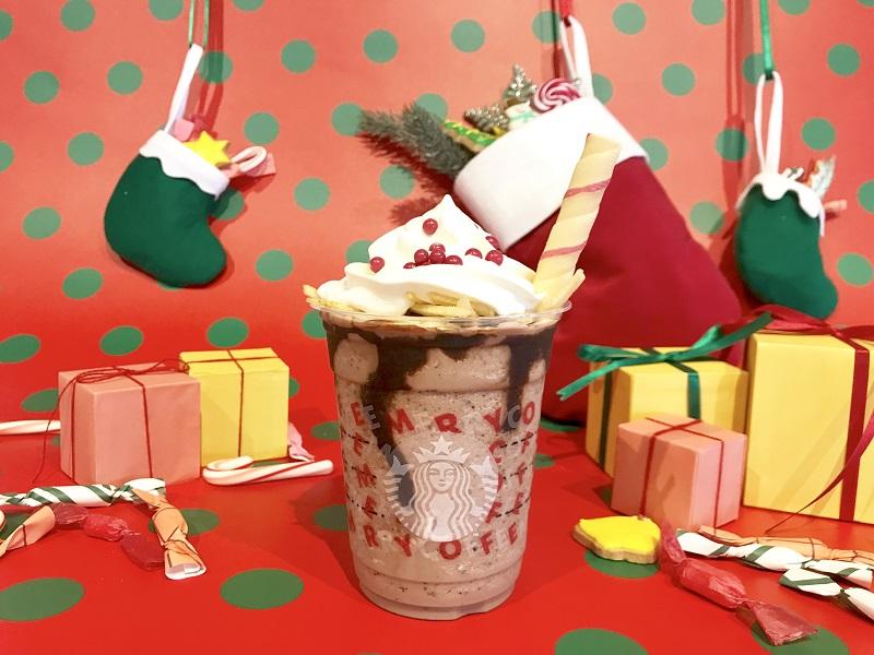 【スタバ 新作レポ】クリスマス第3弾「サンタブーツ チョコレート フラペチーノ」がすごい! 店舗限定スペシャルフォトスポットも登場♡_1