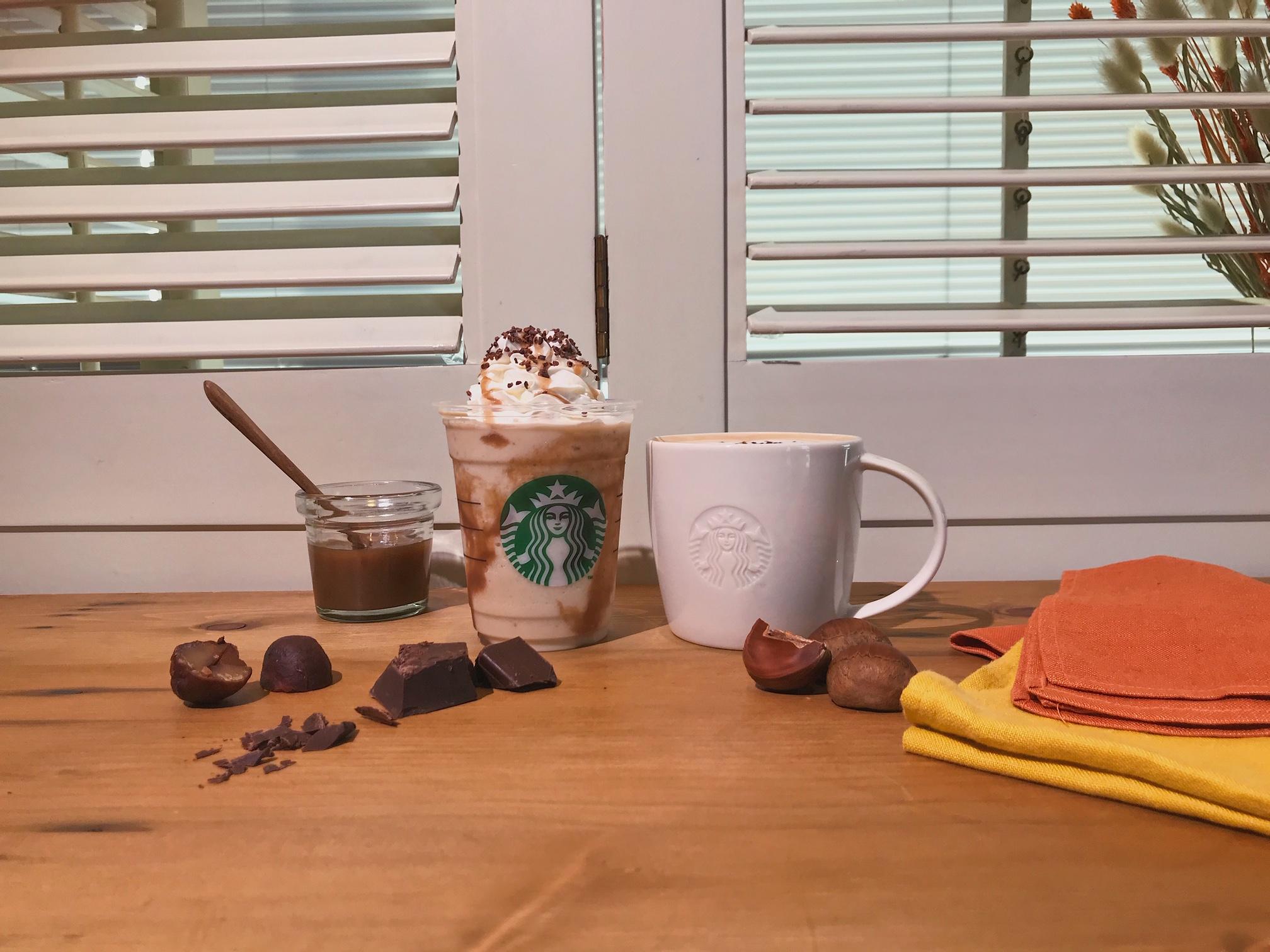 【スタバ 新作レポ】栗がまるごと! 「チョコレート マロン フラペチーノ」がおいしすぎる♡ おすすめカスタマイズや注目スイーツも_1