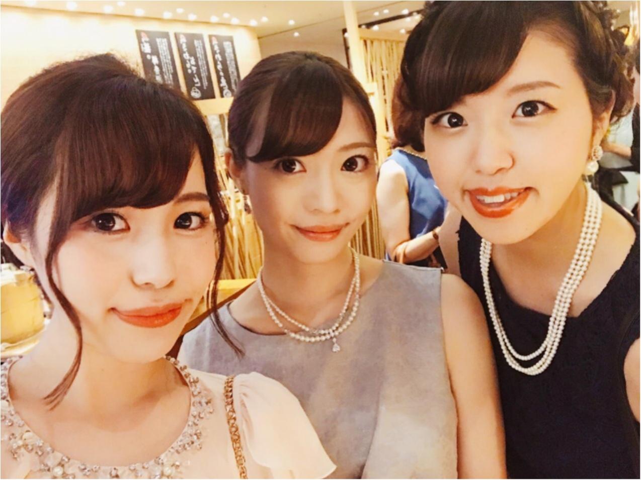 【結婚式二次会】お呼ばれコーデとヘアアレンジ❤︎_10