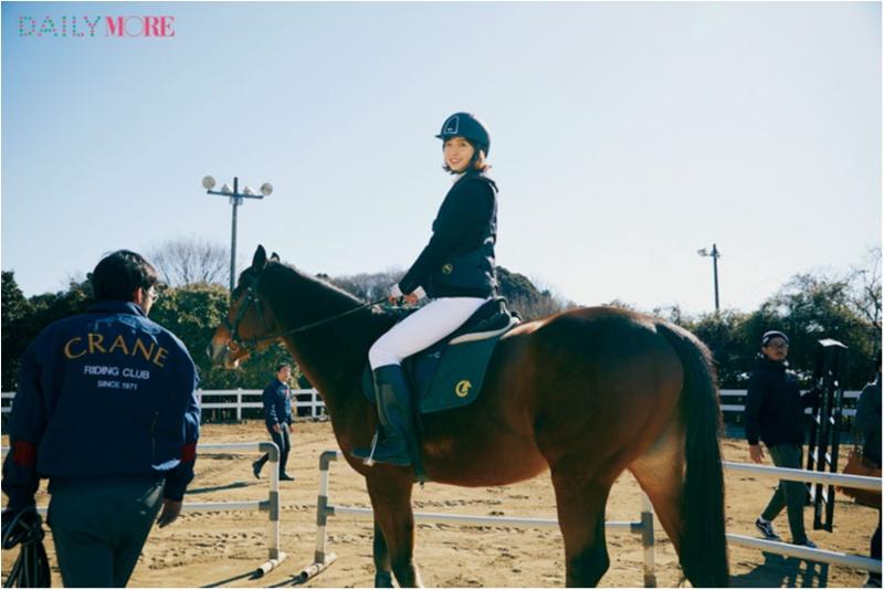 篠田麻里子もおすすめ♡ 『乗馬クラブクレイン』で、体験乗馬!【麻里子のナライゴトハジメ】_2_2