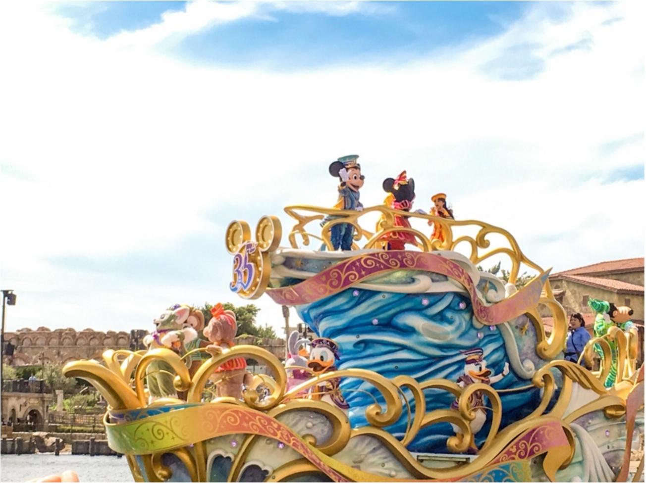 ディズニー,ディズニーランド,パレード,ミッキー,Happiest Celebration,35周年