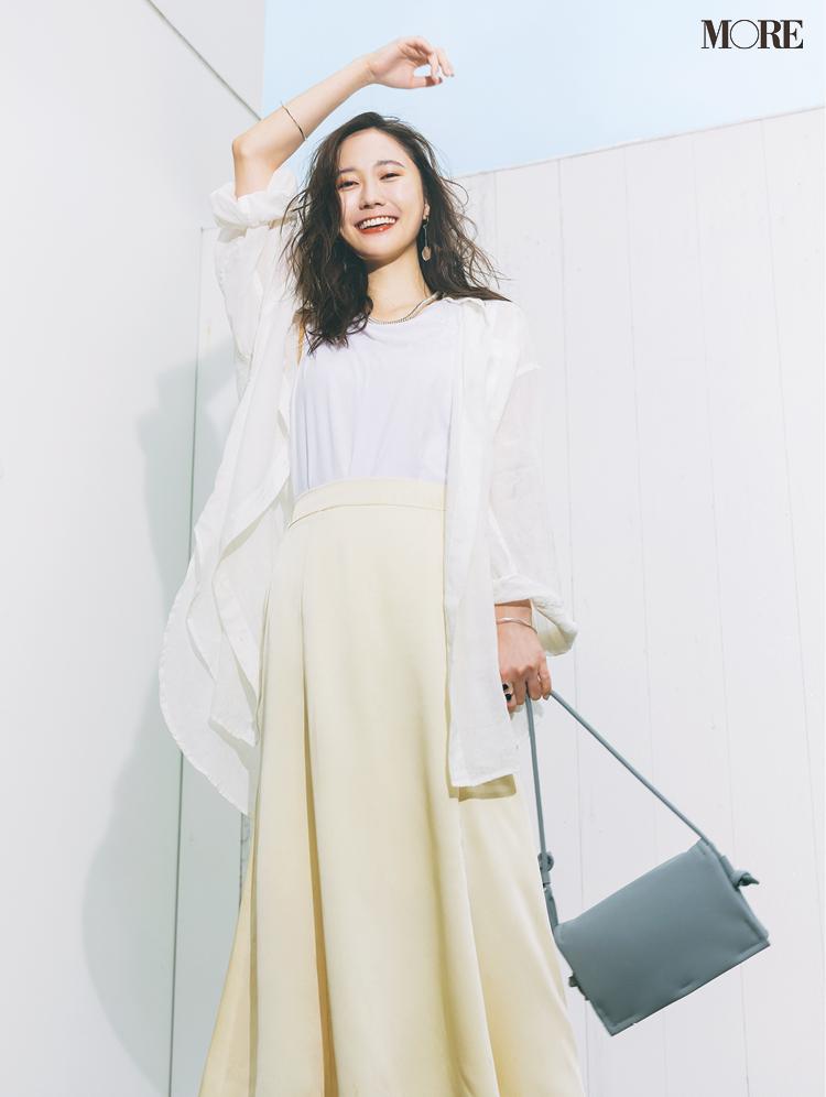 白いシャツが「気持ちを開放する」服No.1☆ コーデも気持ちも明るくしたいならこれを選ぶべし!_1