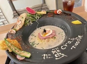 【神戸・北野】一度食べてみたい!贅沢なカニ蟹ラーメン〜トリュフ仕立て〜