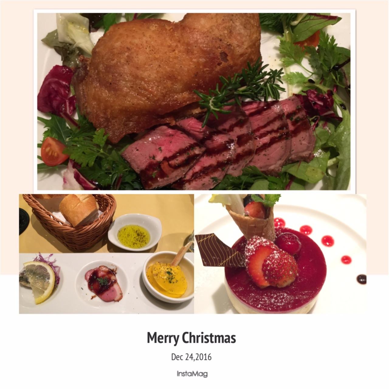 ランチもディナーも☆クリスマス限定セットで特別なクリスマスを♪_1