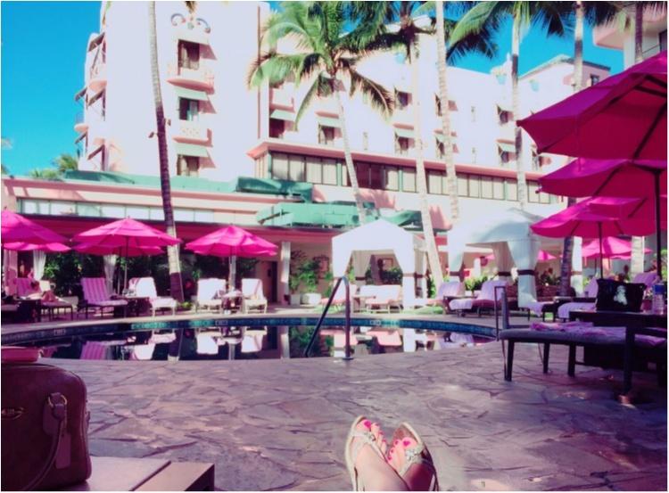 【TRIP】憧れのピンクパレス♡ロイヤルハワイアンのプールがフォトジェニックすぎる♡_3
