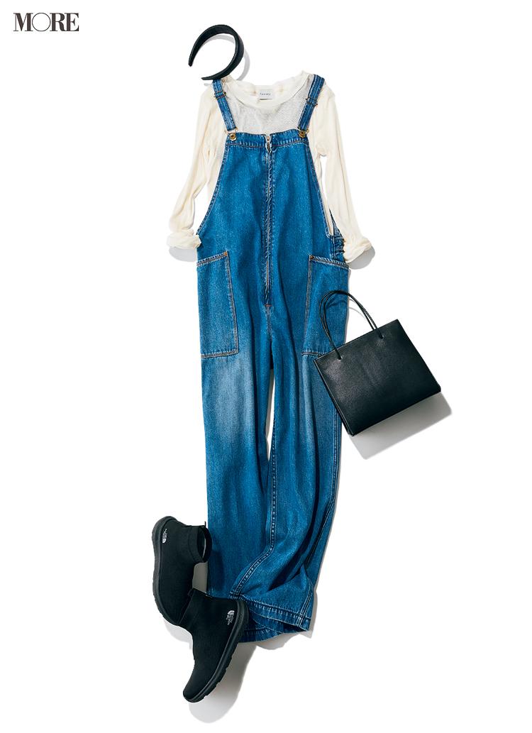 """""""あざと可愛いおうちコーデ""""は、サロペットで作れるっ♡ 女っぽく着るために合わせるべきインナーは?_5"""