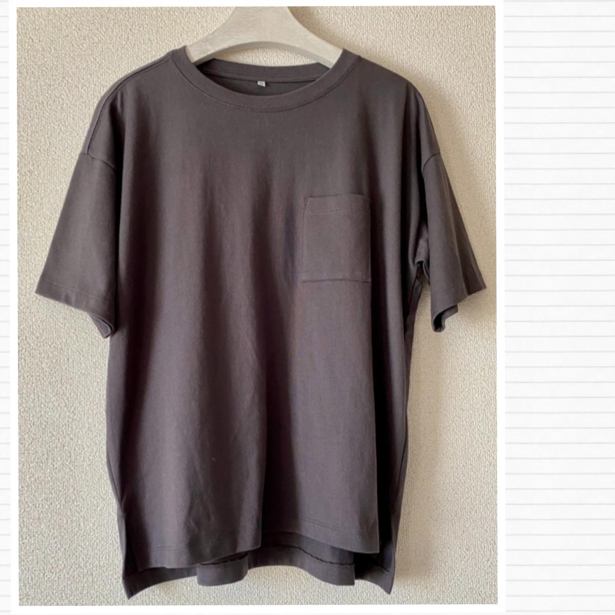 しまむらのオーガニックコットンプラスTシャツ