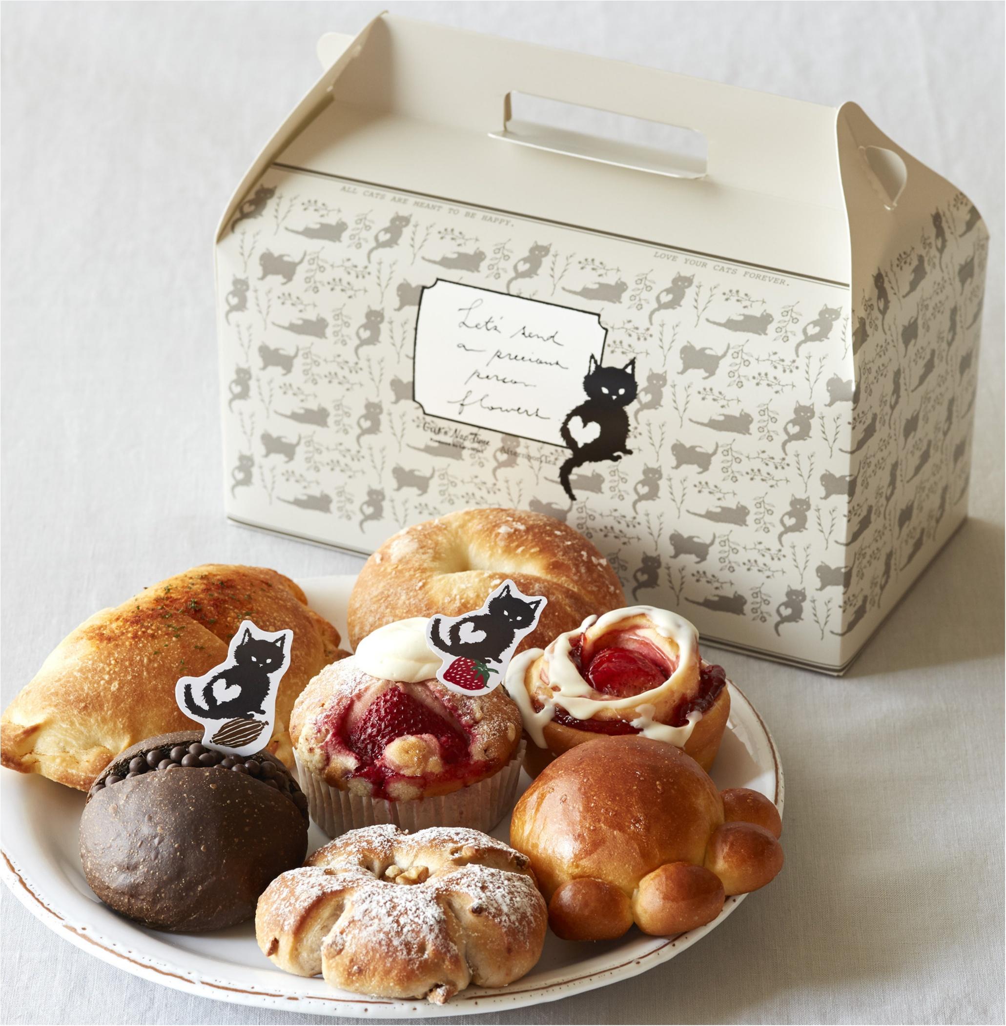 【2月22日はネコの日】テーマは「ネコのお花屋さん」♡ 『アフタヌーンティー』にネコのお菓子やパンがいっぱいです!_1_4