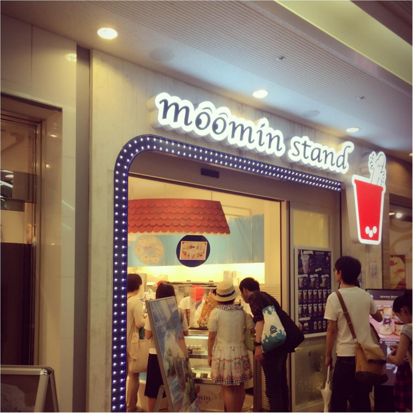 一度は行ってみたい!ムーミン スタンド♡♡_1