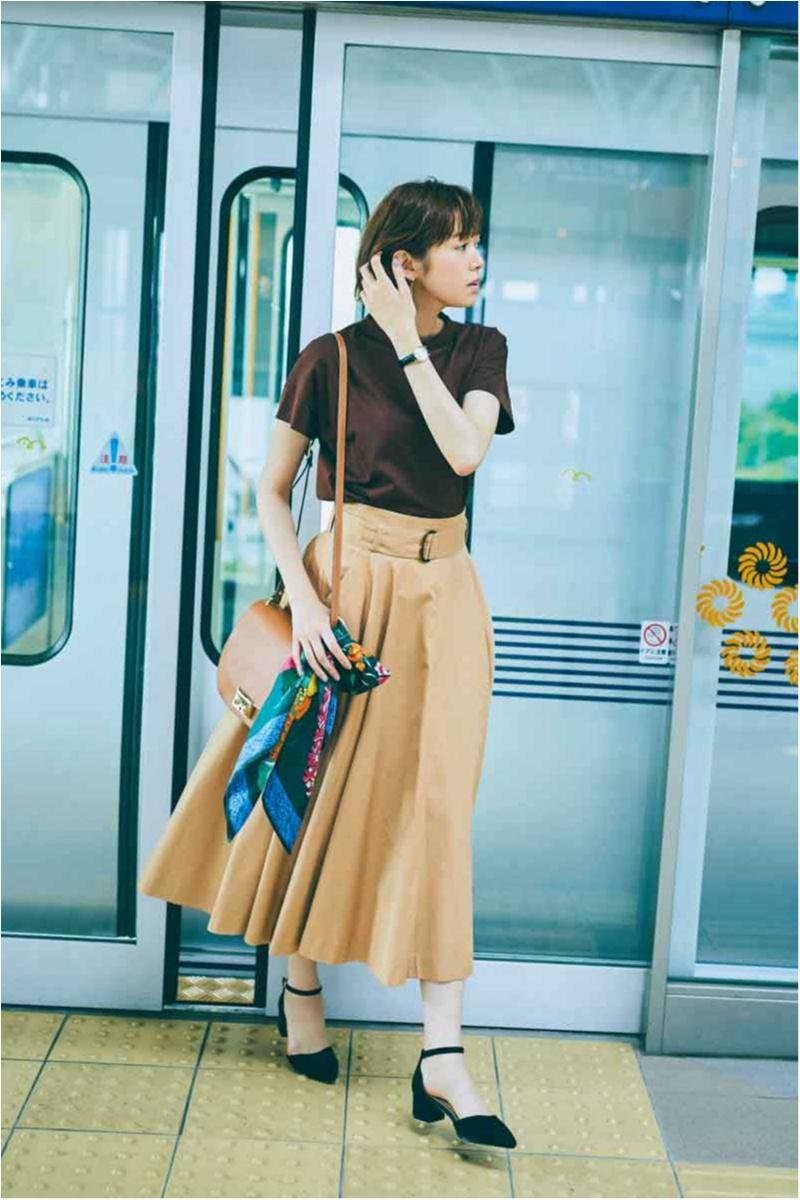Tシャツ通勤は25℃超えが当たり前の夏の賢い選択。ネイビー&ブラウンから始めて!_6