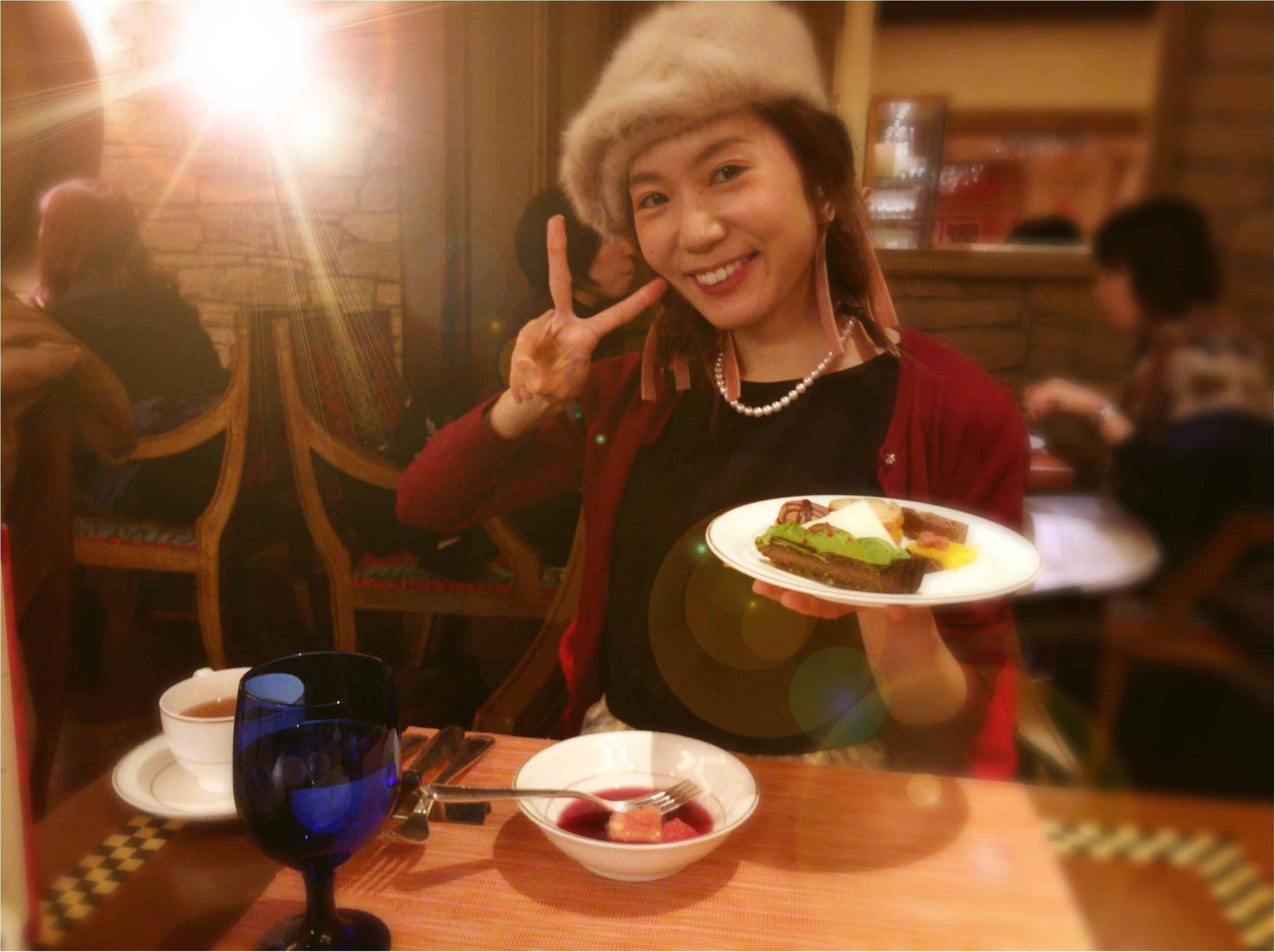元旦!リッツ・カールトン大阪の《チョコづくしブッフェ》に行ってきました!♡_6