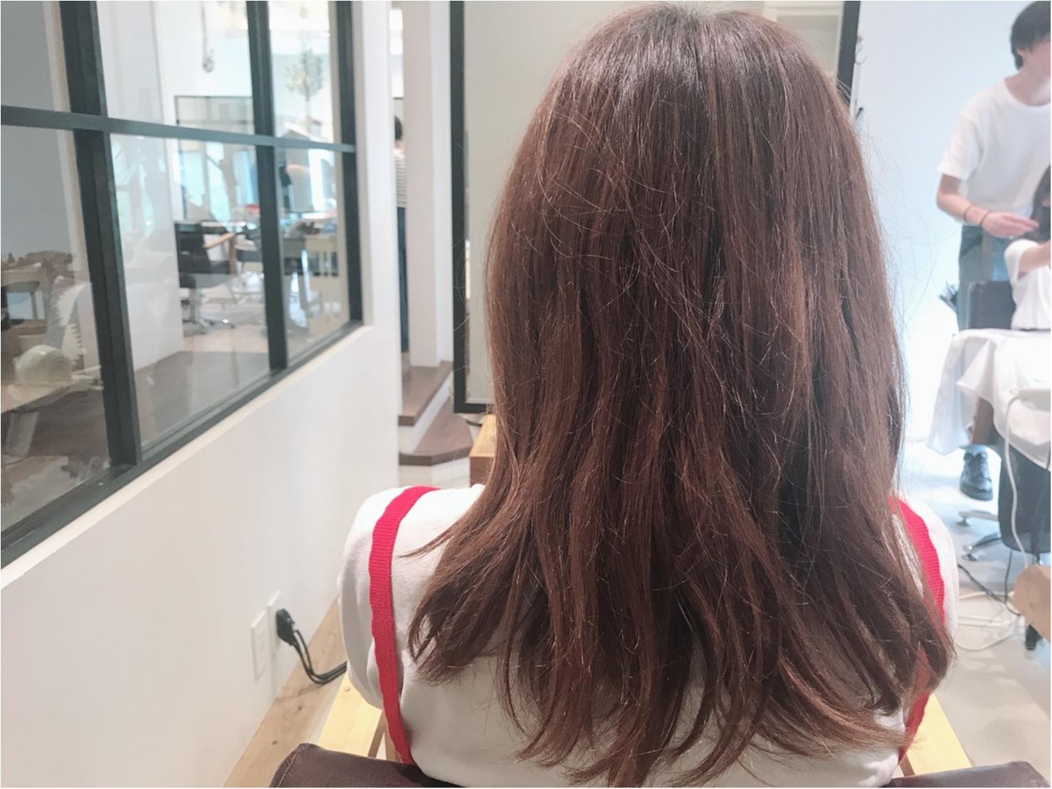 2018夏のトレンドヘアカラー!髪色変えたら透明感GETしたハナシ♡_1