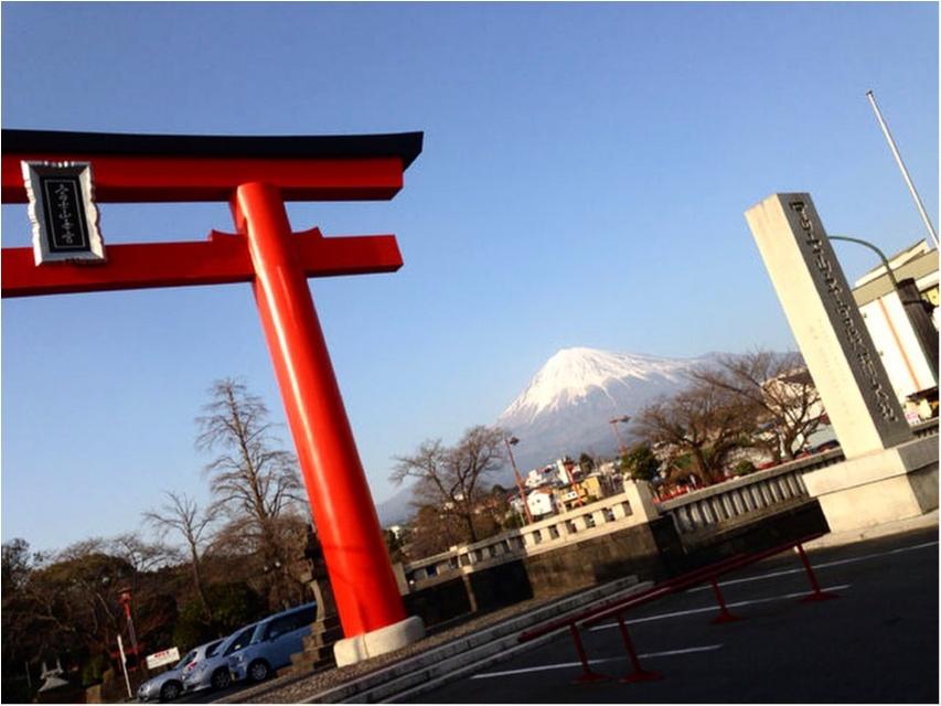境内から富士山が見える♡全国1,300社ある浅間神社の総本社【富士山本宮浅間大社】に初詣に行ってきました(*´ ˘ `*)_6