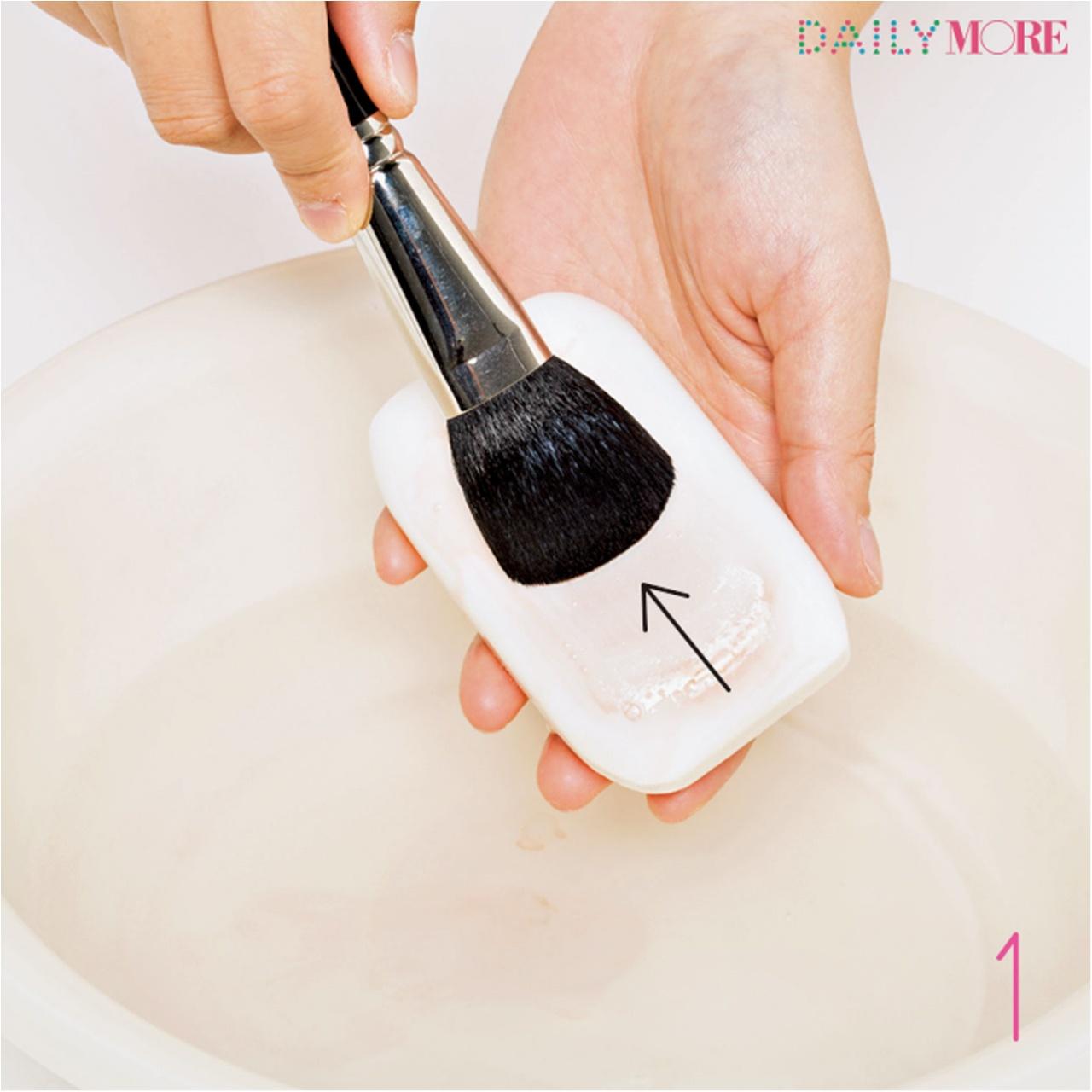メイク用ブラシは粉の落とし方が重要!! 【メイクの汚道具、一斉お掃除大作戦!】_6