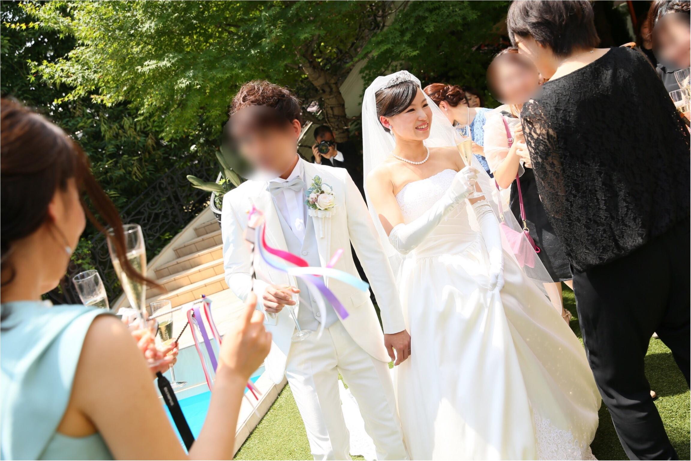 moco婚④▶︎ガーデンセレモニーはリボンワンズで華を添えて♡_9