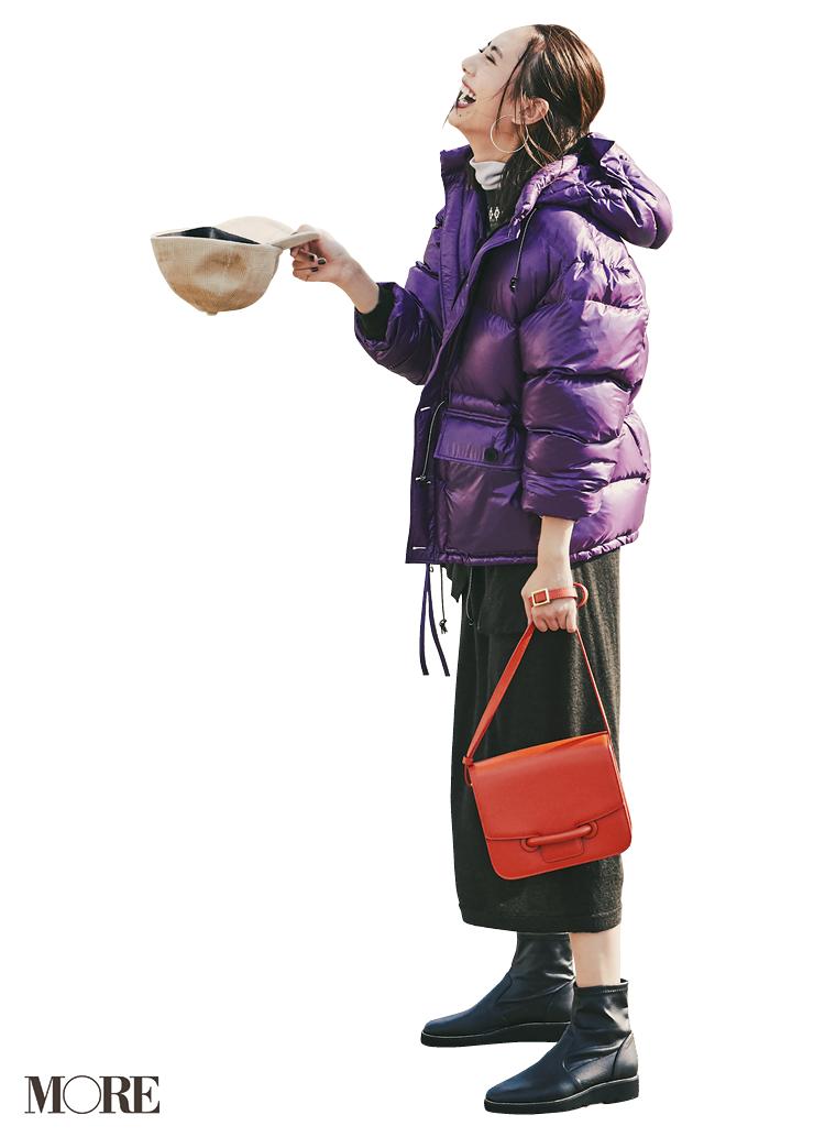 注目のきれい色【パープル】コーデ見本 | ファッション(2018年秋冬編)_1_12