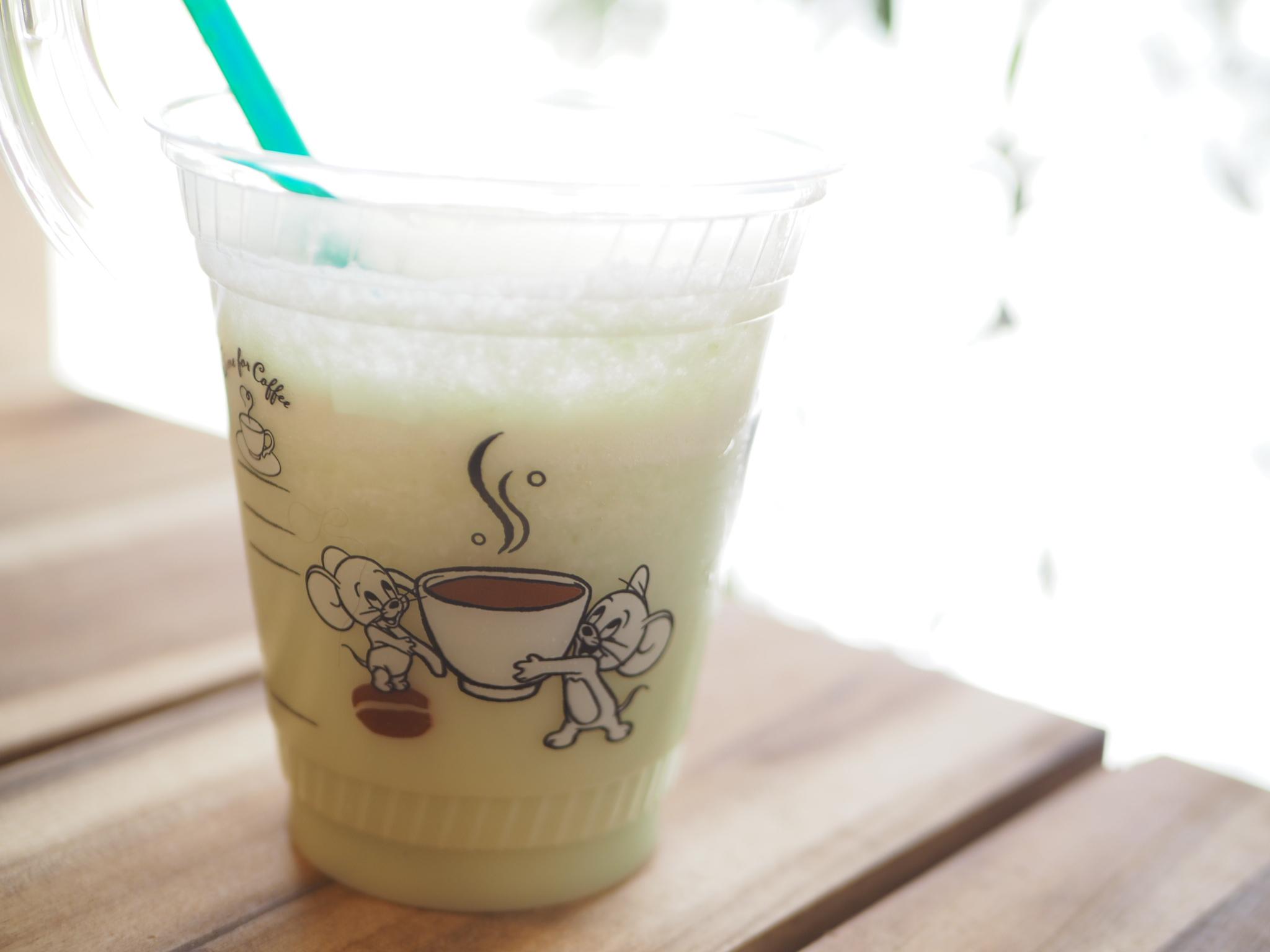 【TULLY'S COFFEE】タリーズ初のメロンドリンク!「メロンヨーグルトスワークル」を飲んでみました★_5