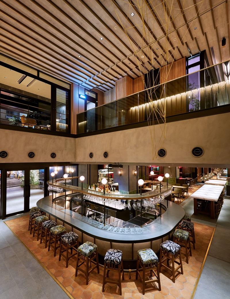 東京おしゃれホテルNOHGA HOTEL AKIHABARA TOKYOのレストランPIZZERIA & BAR NOHGA内観