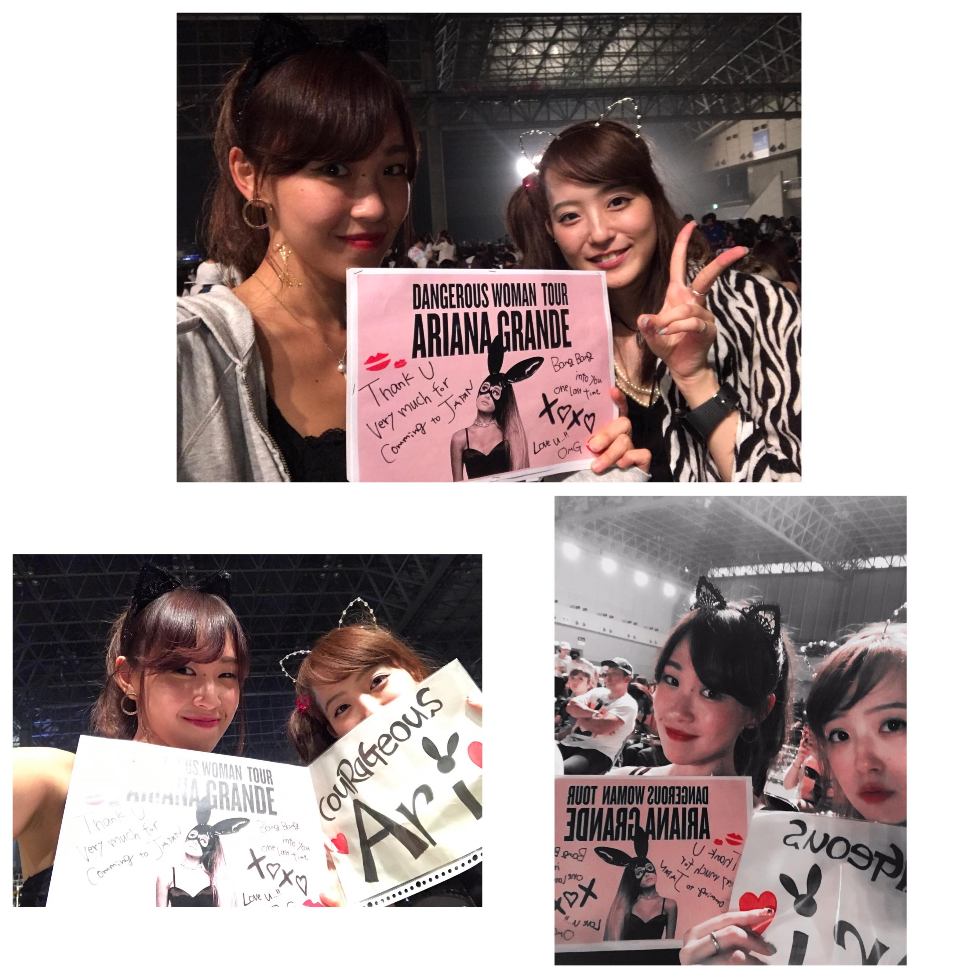 【❤︎❤︎❤︎】アリアナグランデ #dangerouswomantour に行ってきたああああ!!_2