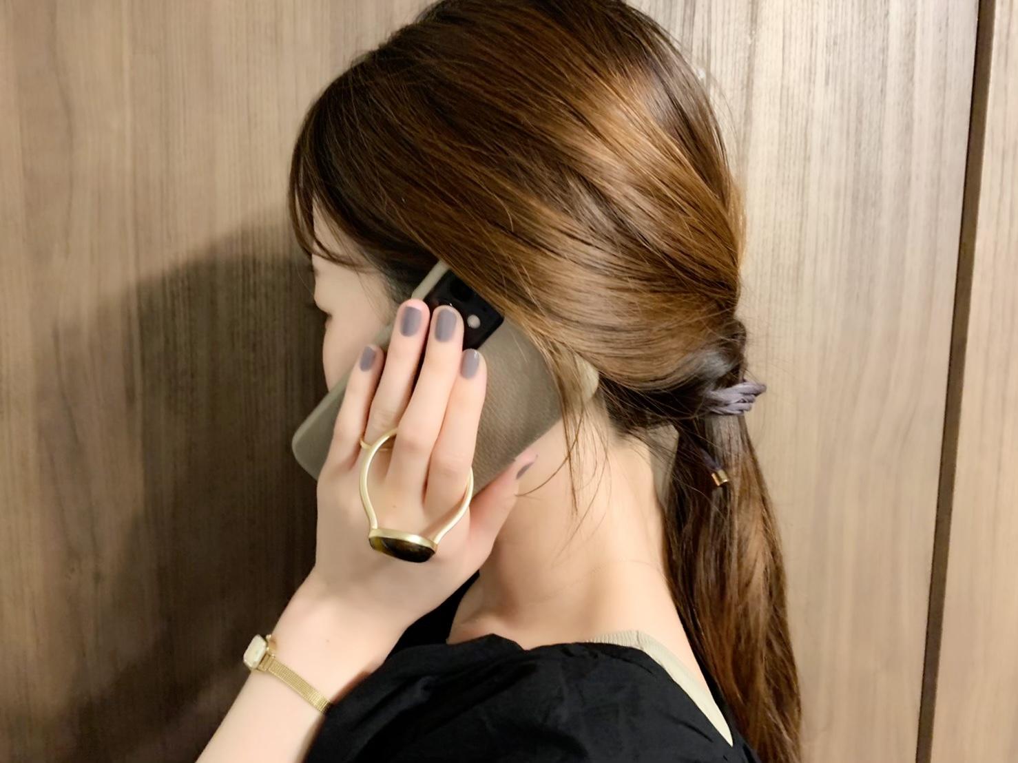 【HASHIBAMI】の《天然石ストーンリングiPhoneケース》がお洒落で可愛い♡_6