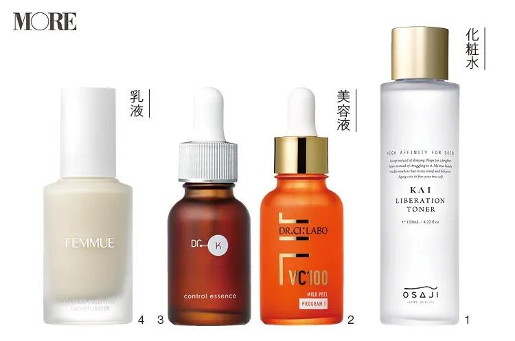 おすすめのドクターシーラボなどの化粧水、美容液、乳液
