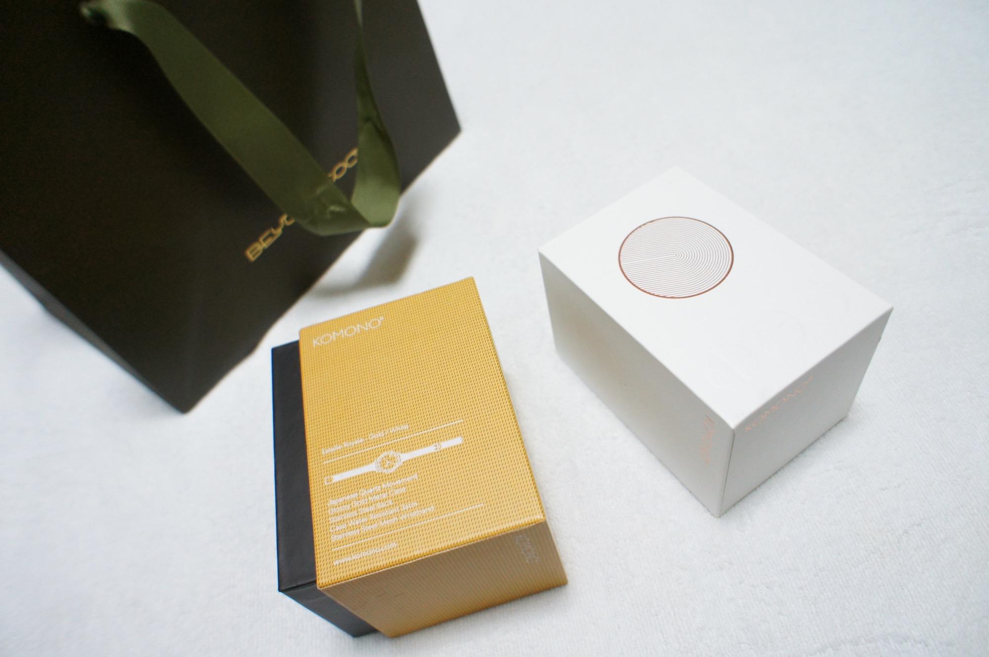 《買ってよかった福袋❤️》【KOMONO】の腕時計が2本で¥11,000でした☻!_3