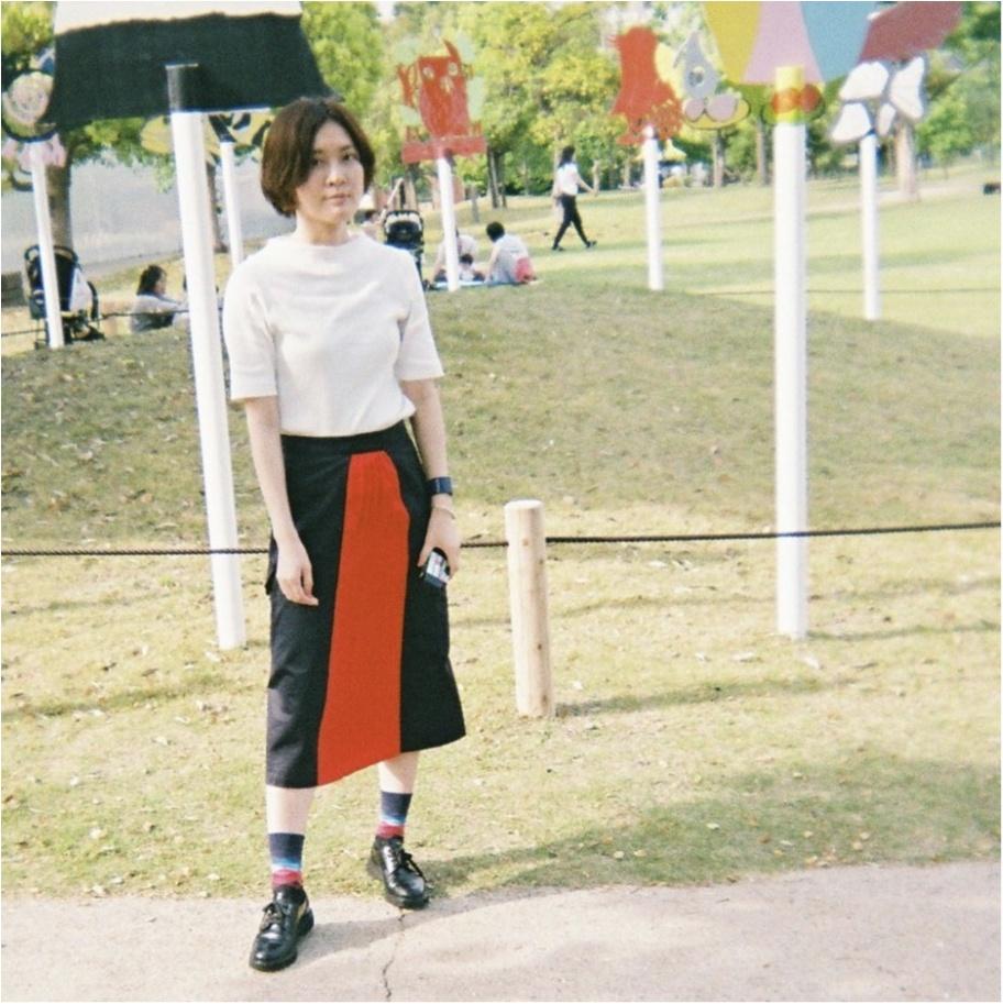 着るだけでコーデが完成!CINOHのスカート。_2