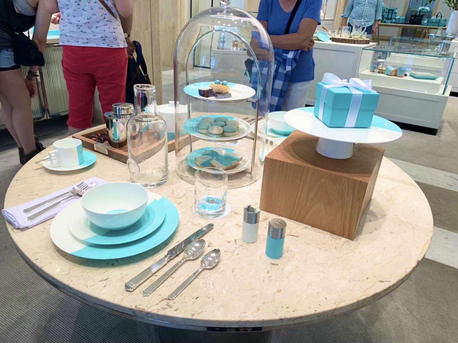 【思い出投稿】〈NY〉予約困難の大人気ティファニーカフェ『The Blue Box Cafe』_4
