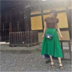 Coordinate...女性らしいふんわりスカートはTシャツで程よくカジュアルに☆