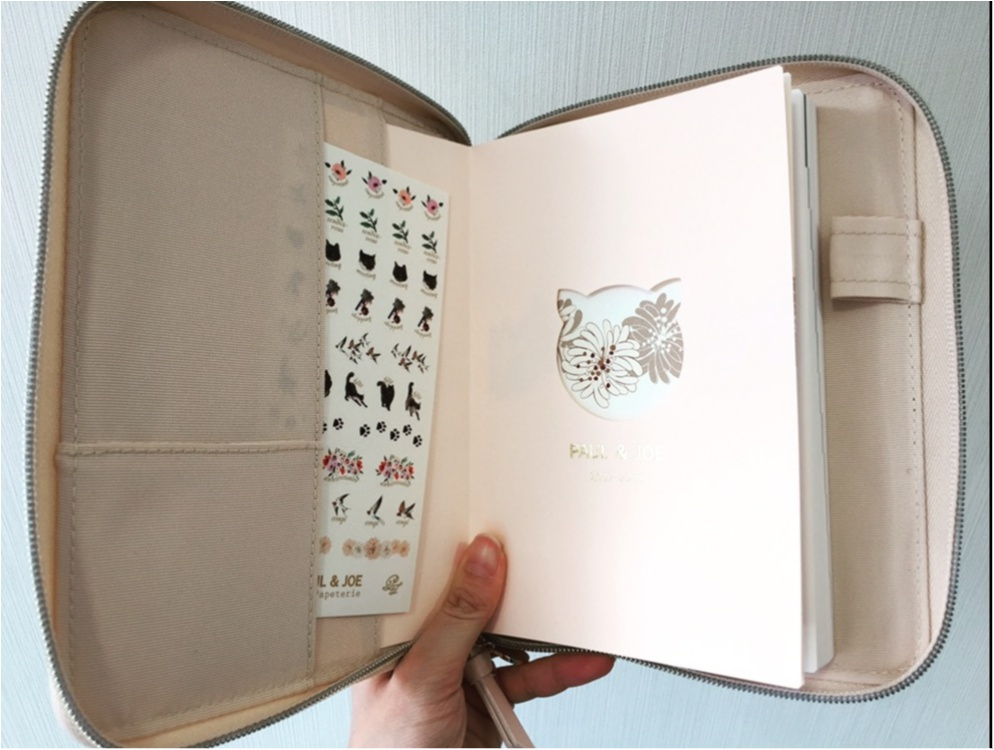 日本文具大賞受賞!!【EDit×PAUL&JOE】のコラボ手帳に新調♪♪その魅力とは...✨_4