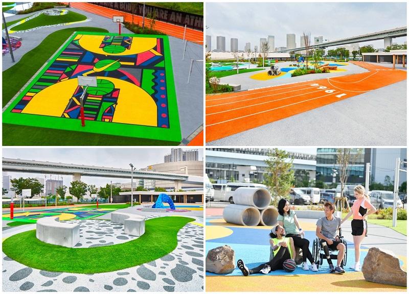 ゆりやんレトリィバァとワークアウト体験! 最新スポット『ナイキ』のスポーツパーク「TOKYO SPORT PLAYGROUND SPORT × ART」レポ☆_2