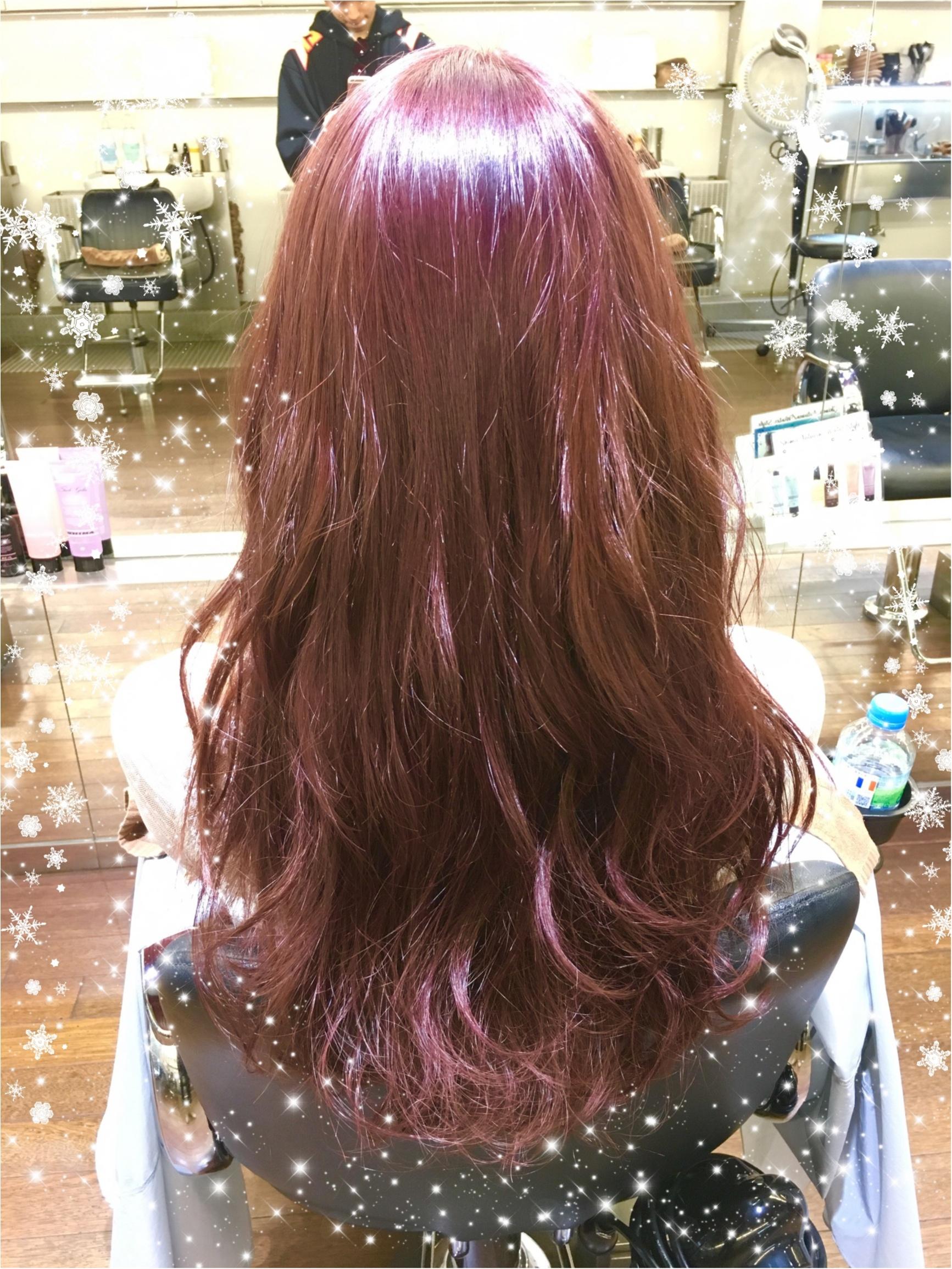 ☺︎♡究極かわいいガーリーヘア♡奇抜すぎない、けど被らない✨今年の秋冬カラーは是非Pink♡綺麗に染めるコツ・色を保つコツは!_1