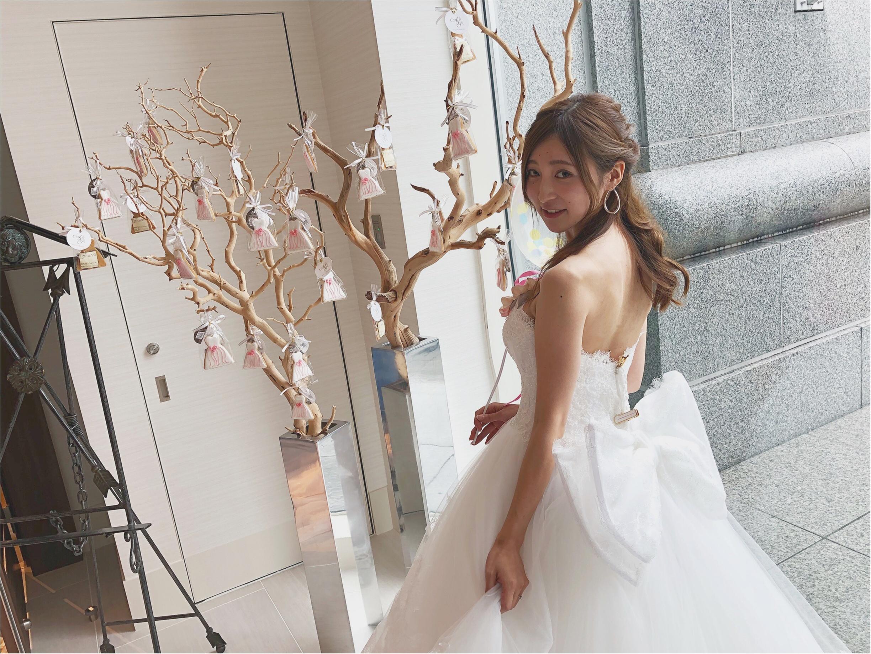 【marry × acquagrazie】プレ花嫁さんが集まるドレス試着イベントへ♡♡ドレスを着たら絶対撮りたい憧れの〇〇〇〇ショットを撮ってもらいました♥︎_4