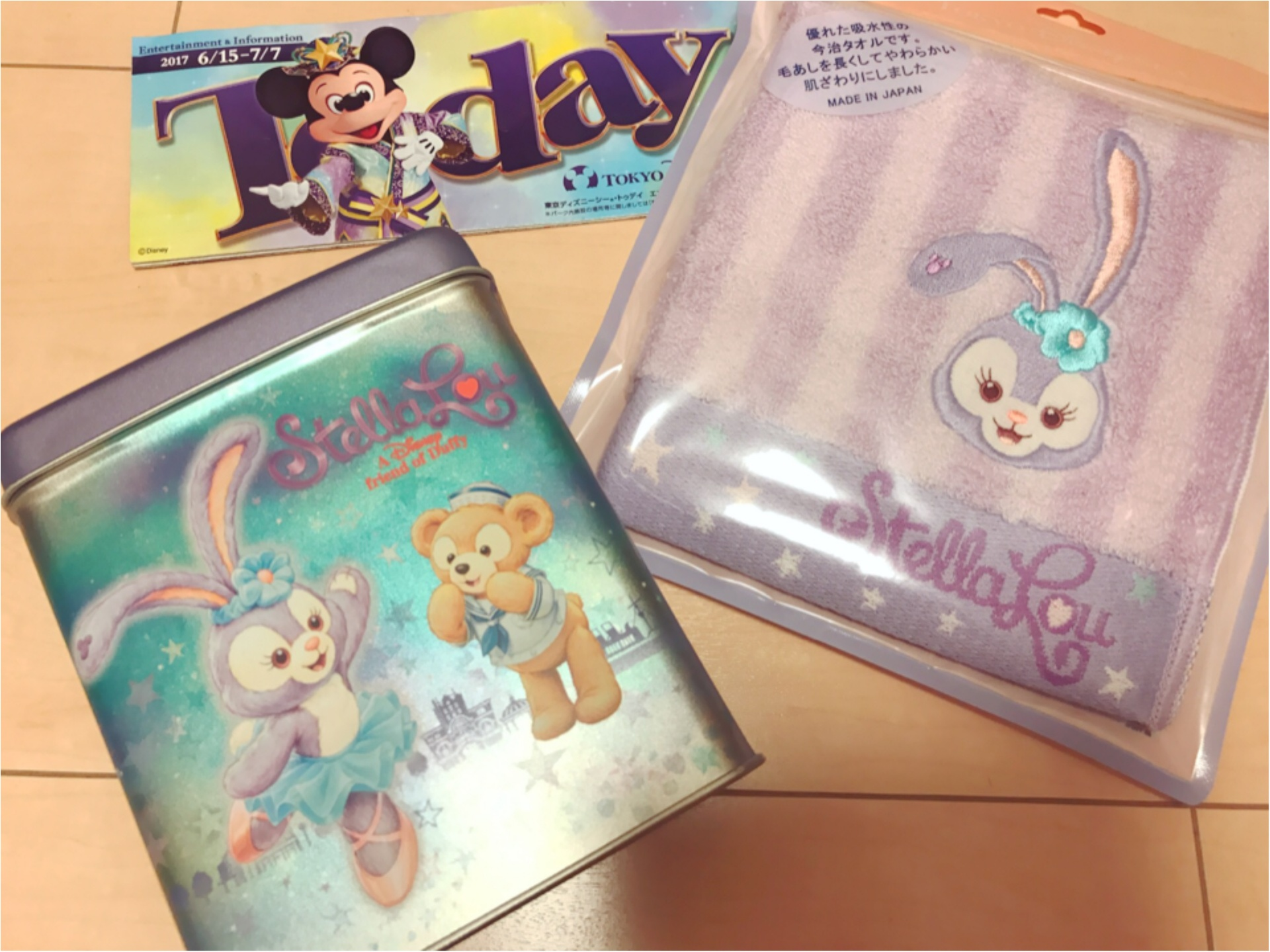 【Disney Sea】ダッフィーのお友だち、話題のステラ・ルー 会ってきました ♡♡ グッズも大公開!_7