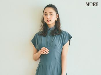 【今日のコーデ】<鈴木友菜>特別感を出したい日はシックなおよばれドレスに美人な小物を添えて♡