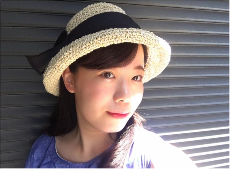 【夏小物】全力で夏を楽しむなら!《CA4LA》の麦わら帽子が断然お気に入り♪_3