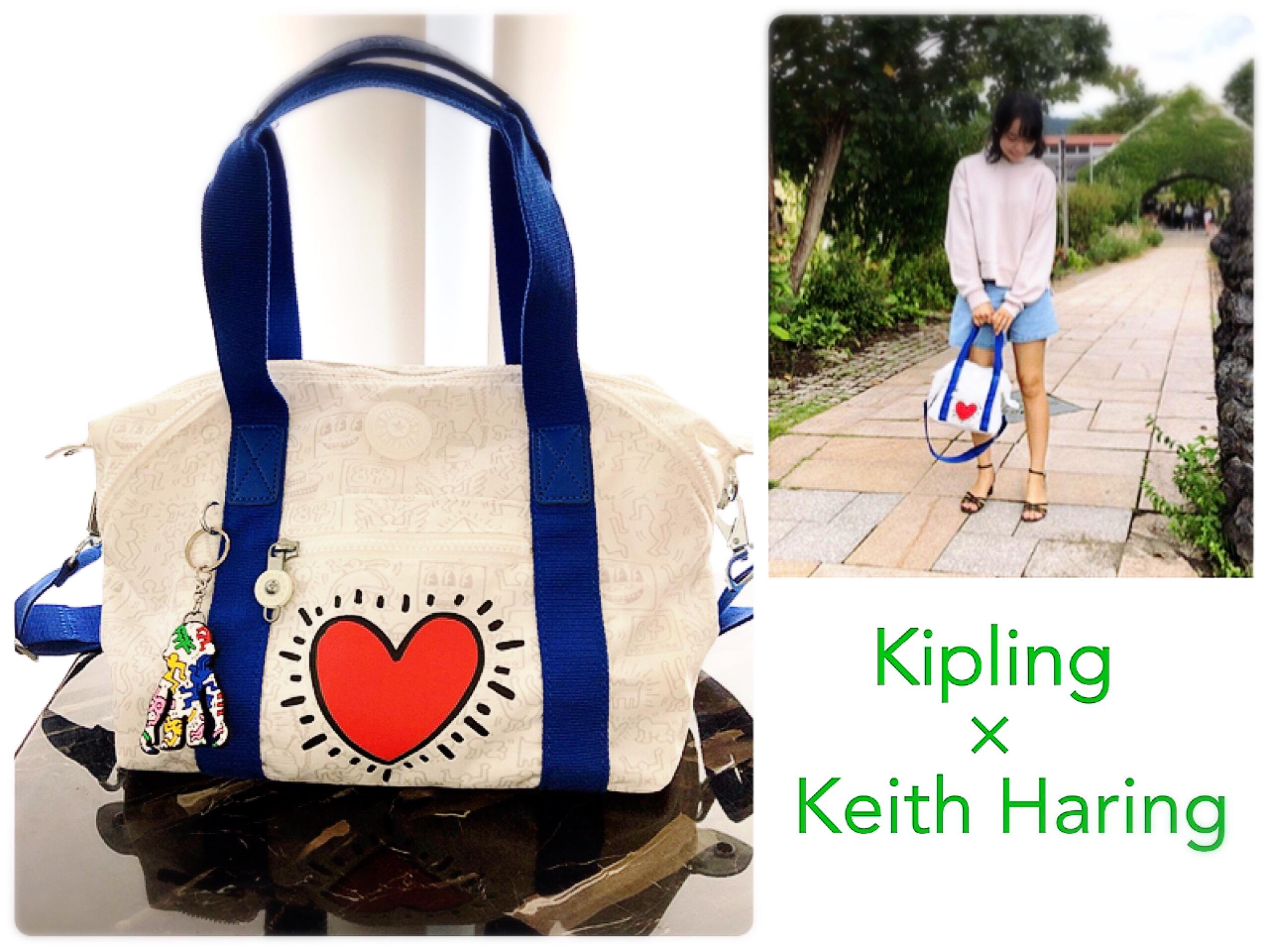 【NEW!】《Kipling×Keith Haring》ポップなデザインがファッションのアクセントに♡ GoTo Travelに大活躍の2wayバッグ!_8