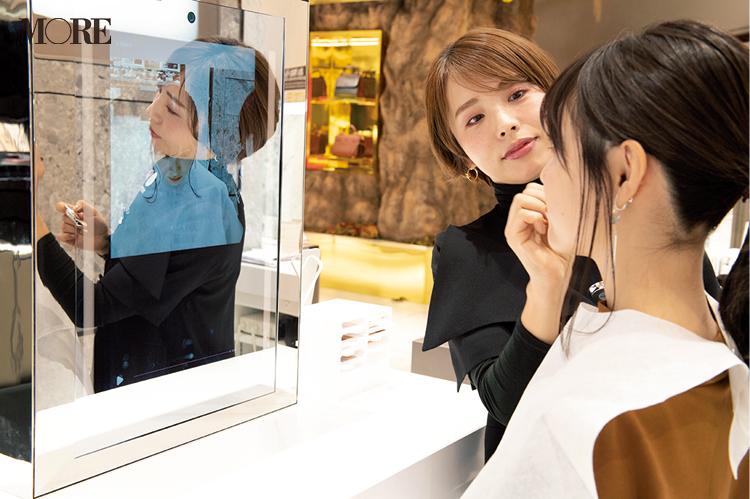 「伊勢丹新宿店」化粧品フロアの最新コスメカウンターがすごすぎる! BAさんのメイクテクをおうちで復習できる機能にも注目_1