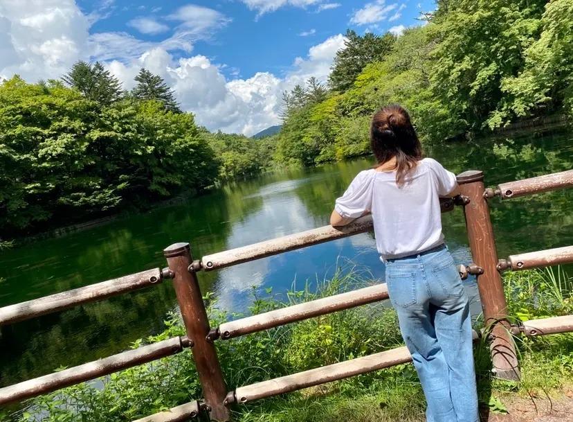長野県・軽井沢の雲場池