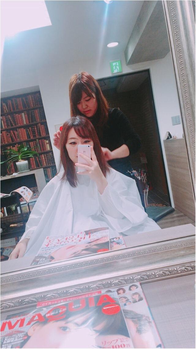イメチェン★前髪つくりました!_3