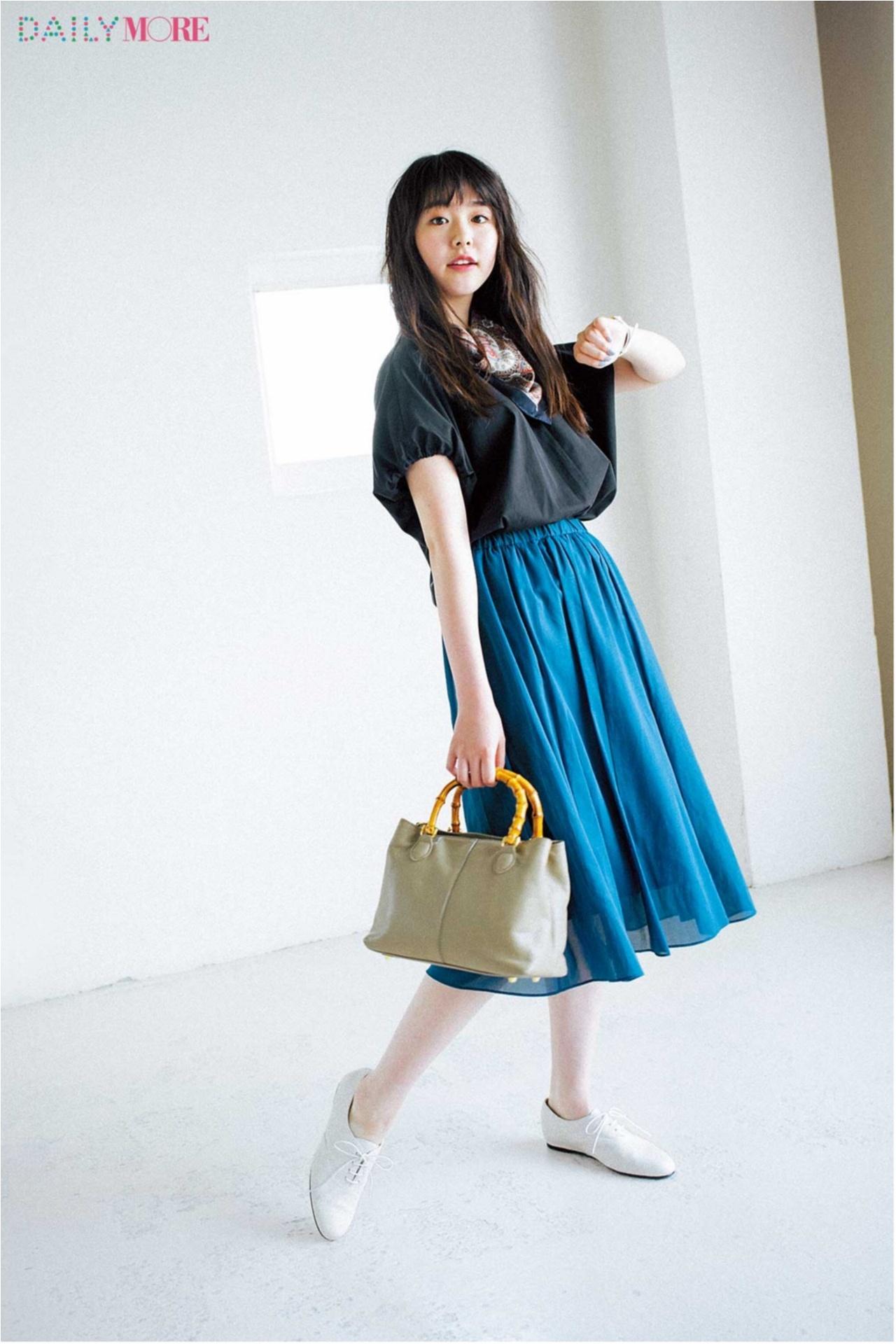 夏の好印象No.1カラー♪「ブルー」を使ったさわやかコーデまとめ♡_1_6