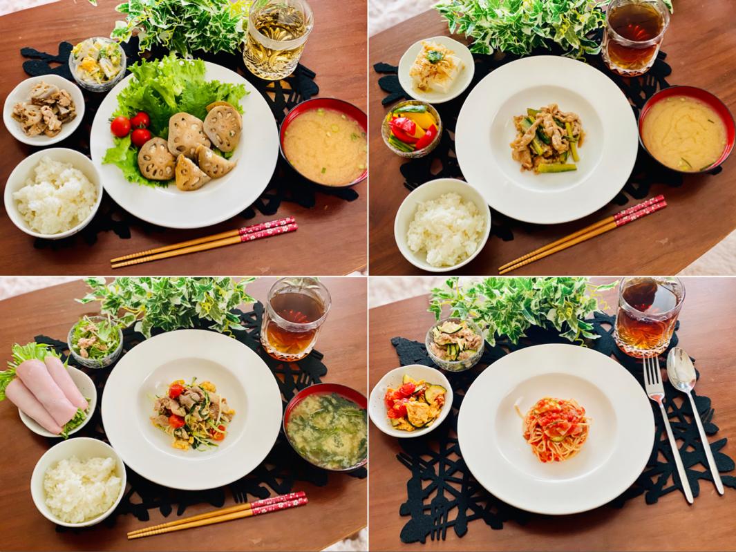 【今月のお家ごはん】アラサー女子の食卓!作り置きおかずでラク晩ご飯♡-Vol.16-_1